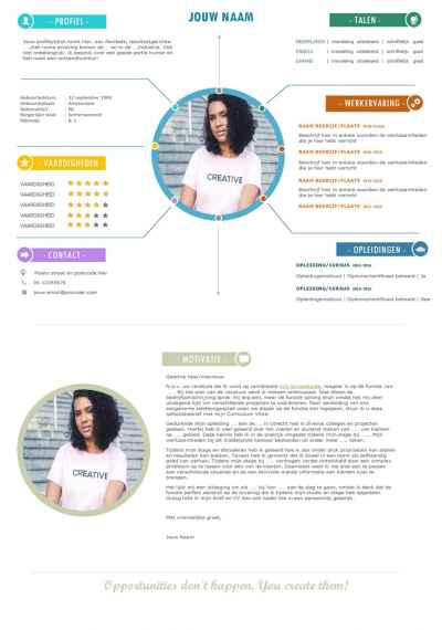 CV Template/CV Sjabloon